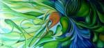 Obras de arte:  : Colombia : Cundinamarca : BOGOTA_D-C- : Juego de verdes y azules