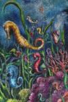 Obras de arte:  : Colombia : Cundinamarca : BOGOTA_D-C- : Caballitos de mar y corales