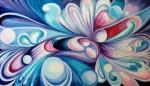 Obras de arte:  : Colombia : Cundinamarca : BOGOTA_D-C- : Metamorfosis en violetas