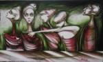 Obras de arte: America : Cuba : Ciudad_de_La_Habana : Centro_Habana : La maldita culpa no la tiene nadie