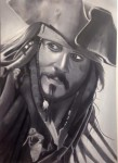 Obras de arte: America : Chile : Region_Metropolitana-Santiago : Renca : Capitán Jack Sparrow