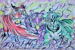Obras de arte:  : Italia : Veneto :  : Tre tigri