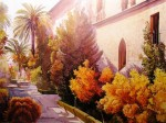 Obras de arte: Europa : España : Andalucía_Málaga : Málaga : Sol de tarde en el Hospital Real