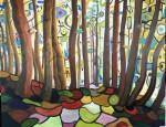 Obras de arte: Europa : España : Extrmadura_Cáceres : Logrosan : El bosque mágico