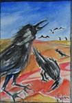 Obras de arte:  : Italia : Veneto :  : Corvi sulla spiaggia