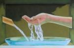 Obras de arte: Europa : España : Castilla_y_León_Burgos : burgos : Caño y mano