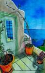 Obras de arte:  : México : Baja_California_Sur : San_Jose_Del_Cabo : Hermoso Santorini