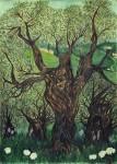 Obras de arte:  : Italia : Veneto :  : Un giorno di primavera fra gli ulivi