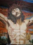 Obras de arte:  : España : Castilla_la_Mancha_Cuenca : cuenca_ciudad : Cristo de la Agonia