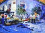 Obras de arte: America : El_Salvador : San_Salvador : San_Salvador_capital : mercado
