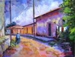 Obras de arte: America : El_Salvador : San_Salvador : San_Salvador_capital : calleja