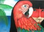 Obras de arte: America : Brasil : Minas_Gerais :  : arara