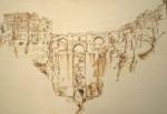 Obras de arte:  : España : Castilla_la_Mancha_Cuenca : cuenca_ciudad : El tajo de Ronda