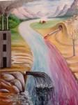 Obras de arte: America : Rep_Dominicana : Santiago : monumental : NATURALEZA VIOLADA