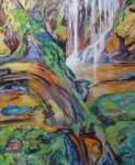 """Obras de arte:  : España : Comunidad_Valenciana_Castellón : castellon_ciudad : """"Cascada después de la lluvia"""""""