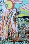 Obras de arte:  : Italia : Veneto :  : Airone bianco-wildlife