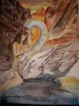 Obras de arte:  : España : Castilla_la_Mancha_Cuenca : cuenca_ciudad : EL cisne