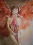 Obras de arte:  : España : Castilla_la_Mancha_Cuenca : cuenca_ciudad : Angel de lujuria
