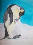 Obras de arte:  : España : Andalucía_Almería : Mojacar : pinguinos