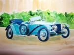 Obras de arte:  : España : Andalucía_Almería : Mojacar : coche antiguo