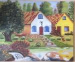 Obras de arte:  : México : Mexico_Distrito-Federal : Benito_Juarez : La casa del jardi
