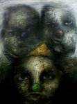 Obras de arte:  : Cuba : Sancti_Spiritus : Trinidad : Sin Título (2) - De la serie SIGILOS