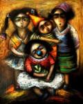 Obras de arte:  : Cuba : Sancti_Spiritus : Trinidad : Una foto para mamá