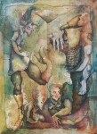 Obras de arte: America : México : Jalisco : Guadalajara : Caminata por el lado central