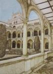 Obras de arte: Europa : España : Murcia : cartagena : Claustro de la Merced, dentro