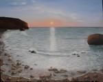 Obras de arte: Europa : España : Comunidad_Valenciana_Alicante : denia : Marina con rocas