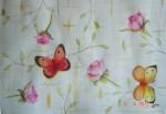 Obras de arte: America : México : Mexico_Distrito-Federal : Coyoacan : Rosas y mariposas