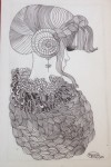 Obras de arte:  : México : Mexico_Distrito-Federal : Benito_Juarez : Mujer sofisticada