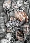 Obras de arte: Europa : España : Catalunya_Barcelona : Viladecans : Horror al Vacío