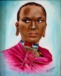 Obras de arte: America : Rep_Dominicana : Santiago : monumental : MODELO AFRICANA