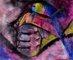 Obras de arte: Europa : Espa�a : Catalunya_Barcelona : Barcelona_ciudad : Presi�n impuesta