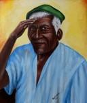Obras de arte: America : Rep_Dominicana : Santiago : monumental : BOINA VERDE