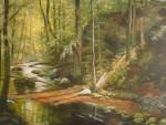 Obras de arte:  : Colombia : Distrito_Capital_de-Bogota : Bogota : Arroyo de bosque