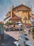 Obras de arte: Europa : España : Euskadi_Bizkaia : Bilbao : MERCADO EN ESPINOSA