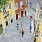 Obras de arte:  : España : Catalunya_Barcelona : Barcelona : Urbanscape III