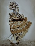 Obras de arte: America : Panamá : Colon-Panama : Barrio_Sur : CONGA CON CAFÉ #4