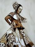 Obras de arte: America : Panamá : Colon-Panama : Barrio_Sur : CONGA CON CAFÉ #3