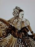 Obras de arte: America : Panamá : Colon-Panama : Barrio_Sur : CONGA CON CAFÉ #2