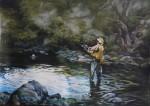Obras de arte:  : Colombia : Distrito_Capital_de-Bogota : Bogota : Pescador