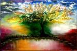 Obras de arte:  : España : Andalucía_Granada : Granada_ciudad : El árbol de la imaginación