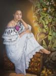 Obras de arte: America : Panamá : Panama-region : Panamá_centro : La niña de las naranjas