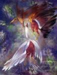 Obras de arte: America : Cuba : La_Habana : miramar._playa : Danza de gallos