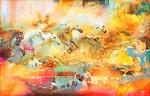 Obras de arte:  : Argentina : Buenos_Aires : Buenos_Aires_ciudad : Valentino y los caballos