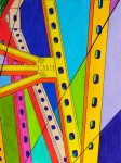 Obras de arte:  : Panamá : Chiriqui :  : Bridge I (Cálidos / Fríos)