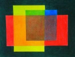 Obras de arte:  : Panamá : Chiriqui :  : Composicón Geométrica con Colores Primarios y Secundarios