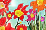 Obras de arte:  : Argentina : Buenos_Aires : Buenos_Aires_ciudad : Flores y soles.-